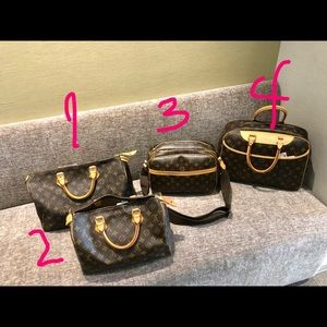 Like new😍Preloved Authentic LV Monogram bags!